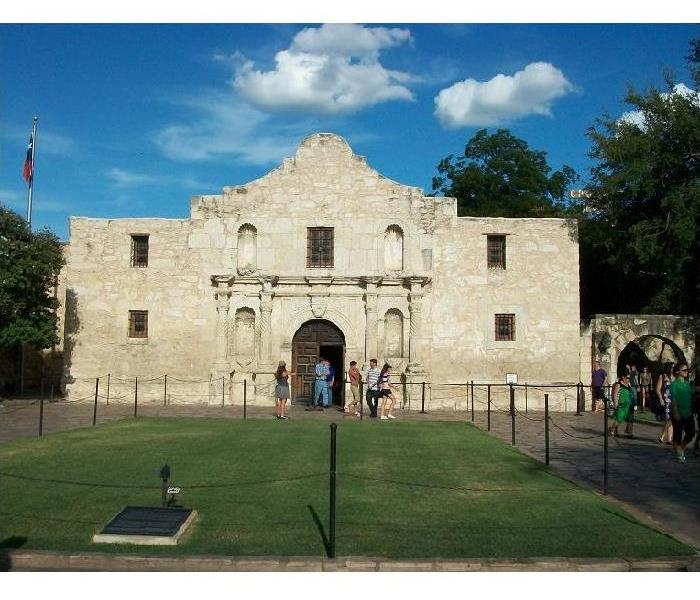 Front image of The Alamo